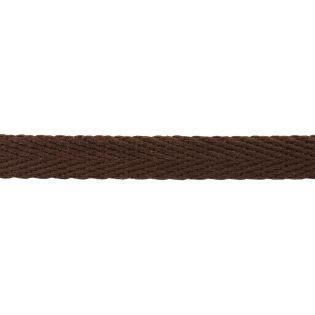 Hoodieband - 15 mm - dunkelbraun
