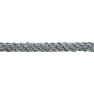 Hoodiedrehkordel - 10 mm - grau
