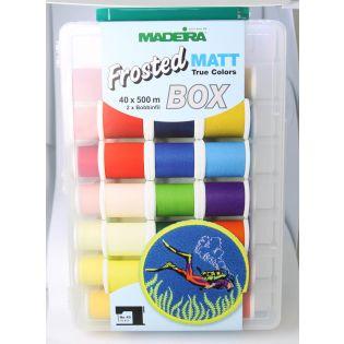 Madeira - Frosted Matt True Colors Box - Stickgarn