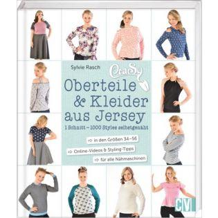 CraSy Oberteile & Kleider aus Jersey - Ein Schnitt - 1000 Styles selbstgenäht