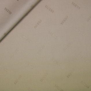Taschenstoff-Zuschnitt - Guess - 70 x 100 cm - beige