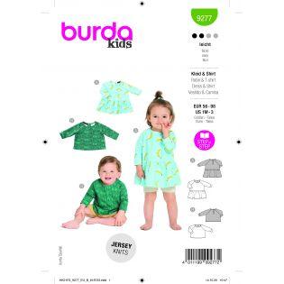 Schnittmuster - burda style - Kleid/Shirt - 9277