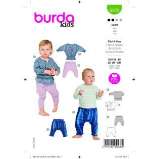 Schnittmuster - burda style - Shirt und Hose - 9278