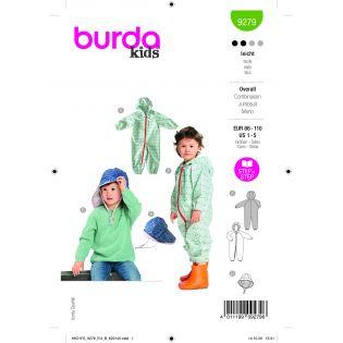 Schnittmuster - burda style - Overall und Hut - 9279