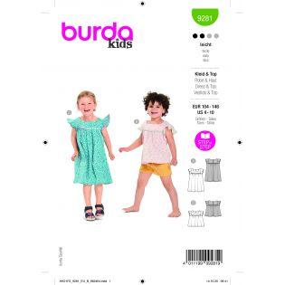 Schnittmuster - burda style - Kleid/Top - 9281