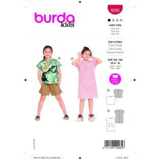 Schnittmuster - burda style - Shirt/Kleid - 9282