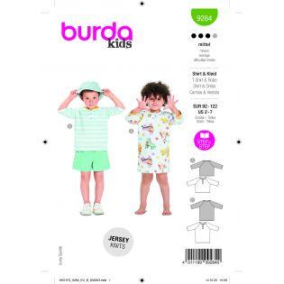 Schnittmuster - burda style - Shirt/Kleid - 9284