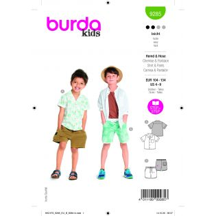 Schnittmuster - burda style - Hemd und Hose - 9285