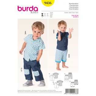 Schnittmuster - burda style - Kombination - 9436