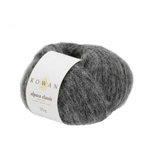 Rowan - Alpaca Classic - Charcoal Melange