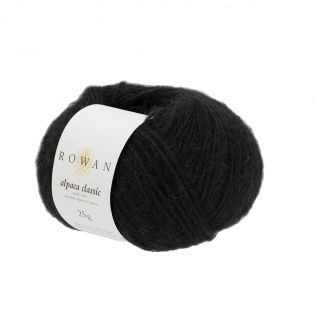 Rowan - Alpaca Classic - Noir