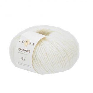 Rowan - Alpaca Classic - Snowflake White