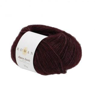 Rowan - Alpaca Classic - Dark Burgundy