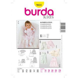 Schnittmuster - burda style - Kombination - 9831