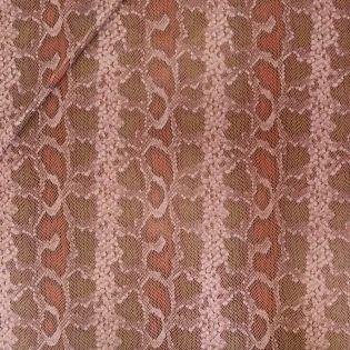 Lederimitat - Milliblu´s - Schlangenoptik - glatt - rot