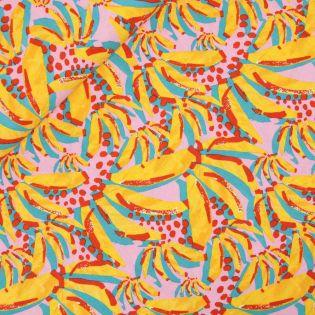 Leinen-Viskose - Little Darling - Bananenstauden