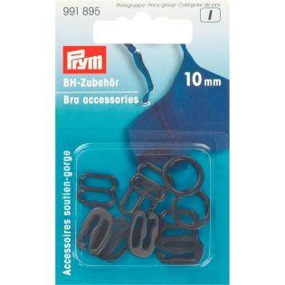 Prym - BH-Zubehör - 10 mm - schwarz