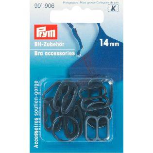 Prym - BH-Zubehör - 14 mm - schwarz