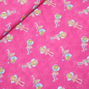 Baumwolljersey - Digital - Prinzessin Lillifee - pink