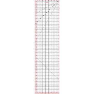 Fiskars - Patchwork-Lineal - 15 x 60 cm