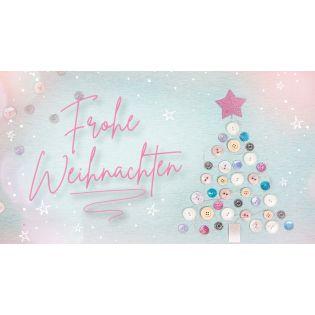 Gutschein - Frohe Weihnachten