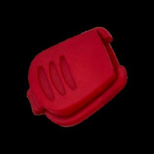 Kordelstopper - 20 mm - rot