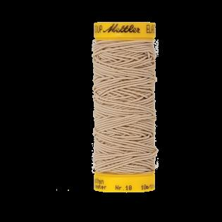 Elastikfaden - 10 m - 0779 - beige