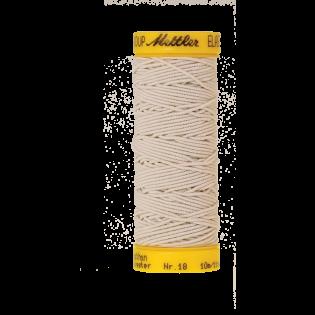 Elastikfaden - 10 m - 1000 - beige