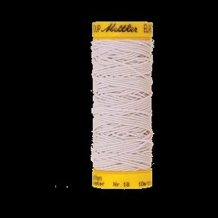 Elastikfaden - 10 m - 2000 - weiß