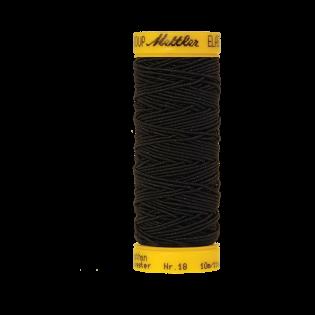 Elastikfaden - 10 m - 4000 - schwarz