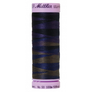 Silk Finish Cotton Multi 50 - 100 m - No.50 - 9813