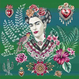 Jacquard Panel - Frida Kahlo