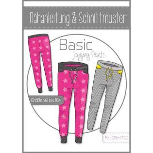 Schnittmuster - ki-ba-doo - Kids - Basic Jogging Pants