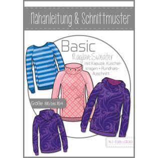 Schnittmuster - Kids - ki-ba-doo - Basic Raglan Sweater