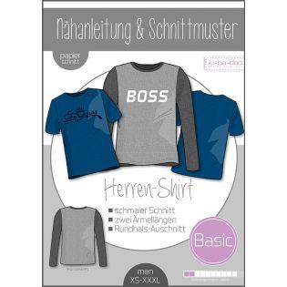 Schnittmuster - Man - ki-ba-doo - Basic - Herren-Shirt