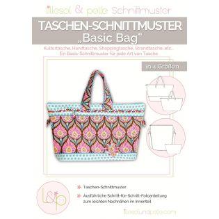 Schnittmuster - Lillesol & Pelle - Basic Bag