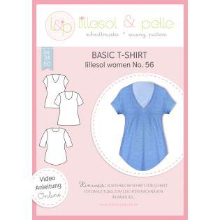 Schnittmuster - Lillesol & Pelle - Women - Basic T-Shirt - No.56