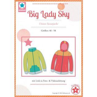 Schnittmuster - Farbenmix - Big Lady Sky - Sweatjacke