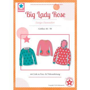 Schnittmuster - Farbenmix - Big Lady Rose - Lässiges Plus-Size-Damenshirt