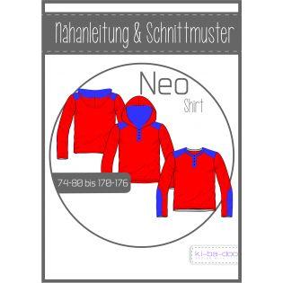 Schnittmuster - Boys - ki-ba-doo - Neo - Shirt