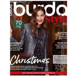Zeitschrift - Burda style - Merry Christmas