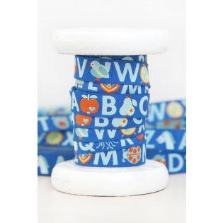 Webband - ABC by Graziela - blau