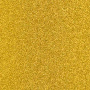 Plotterfolie - Flexfolie - Glitzerfolie - gelbgold