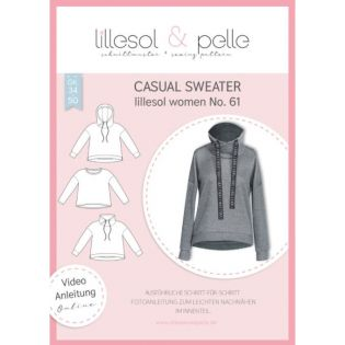 Schnittmuster - Lillesol & Pelle - Women - Casual Sweater - No.61