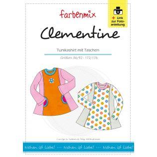 Schnittmuster - Farbenmix - Clementine - Tunikashirt mit Taschen - Kids
