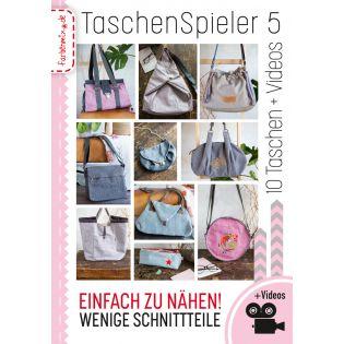 Schnittmuster - Taschenspieler 5 CD - 10 Taschen und Videos