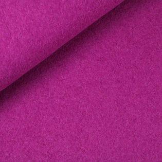 Walkloden - schwer - uni - pink