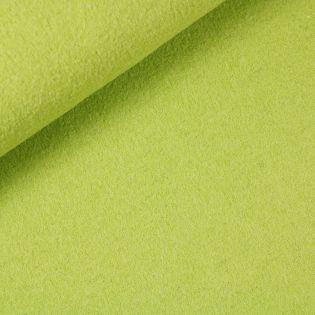 Walkloden - schwer - uni - apfelgrün