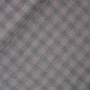 Karo - Stretch - grau-weiß
