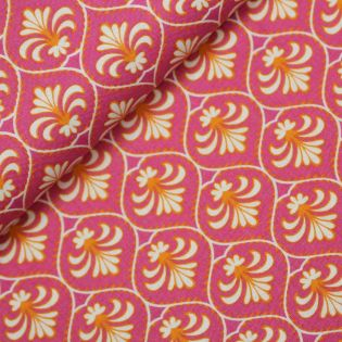 Baumwolle - Gütermann - Frensh Cottage - Fleur-de-Lys- pink